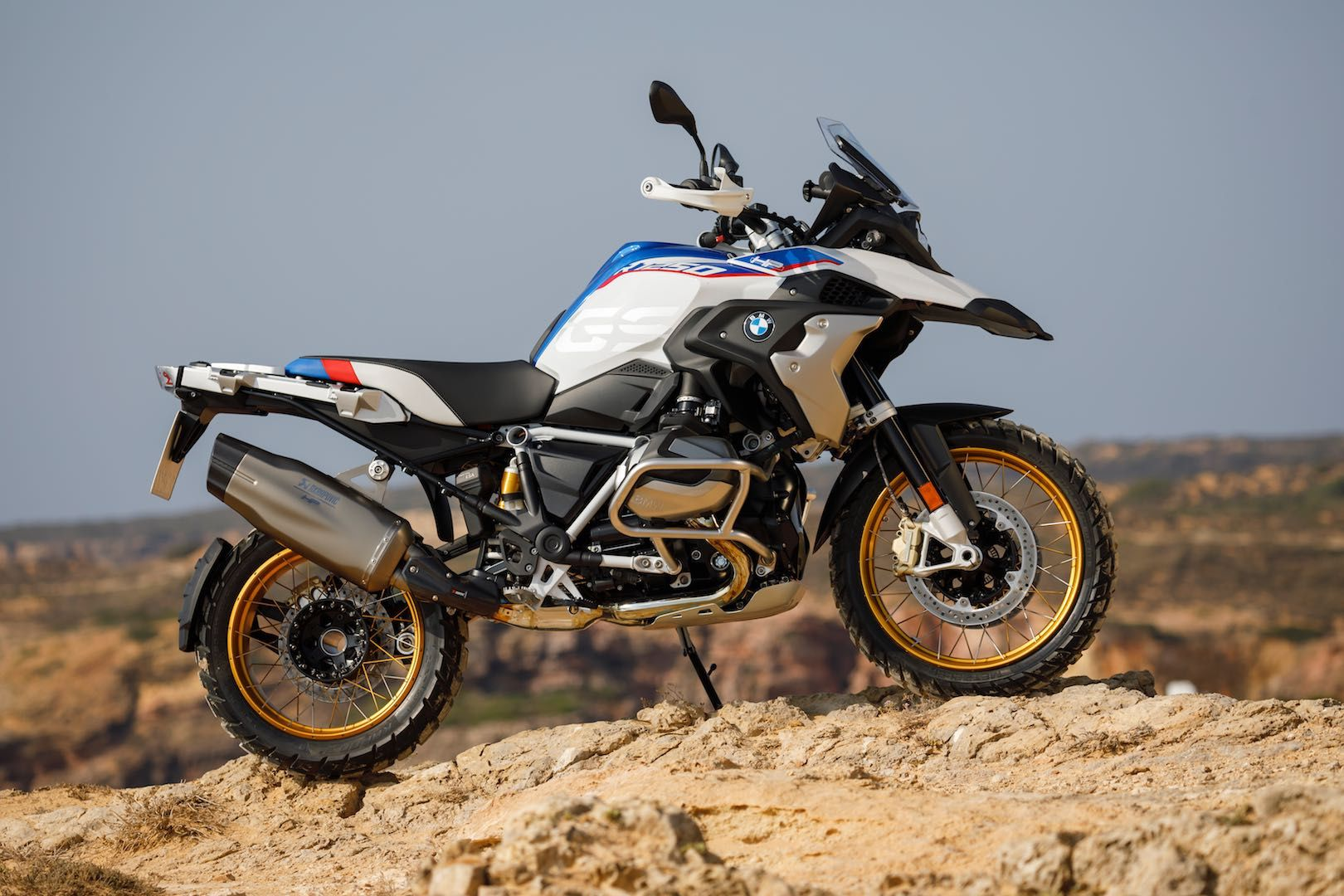 BMW R 1250 GS mountain motorcycle