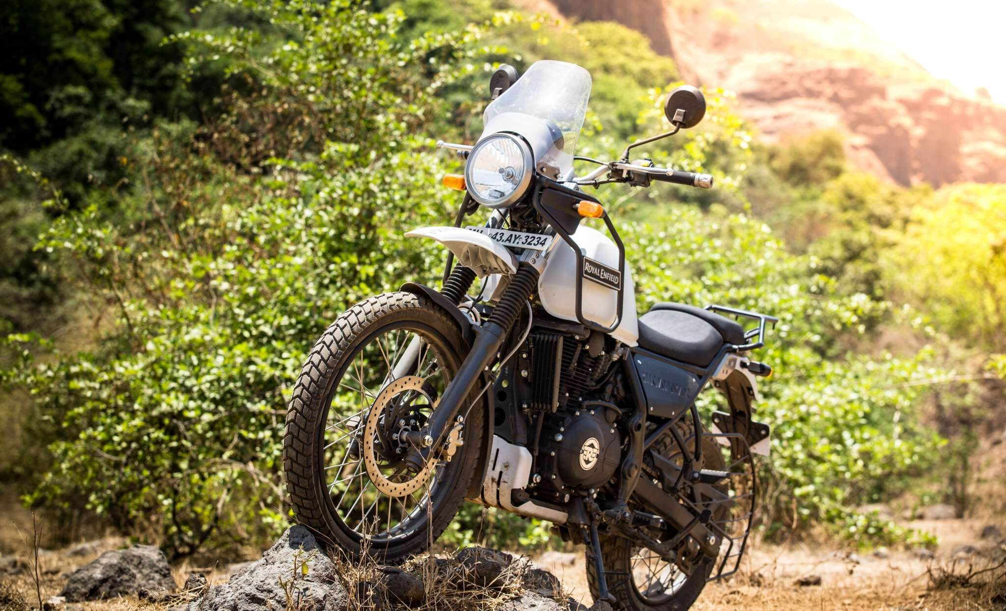 Royal Enfield Himalayan Mountain Motorcycle